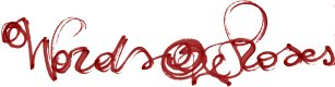 Logo Words and Roses