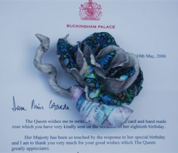 Rose on Queens Letter